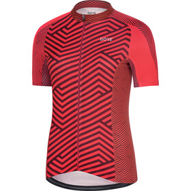 GORE WEAR C3 Jersey Women hibiscus pink/chestnut red